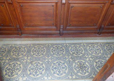 historischer Fußboden